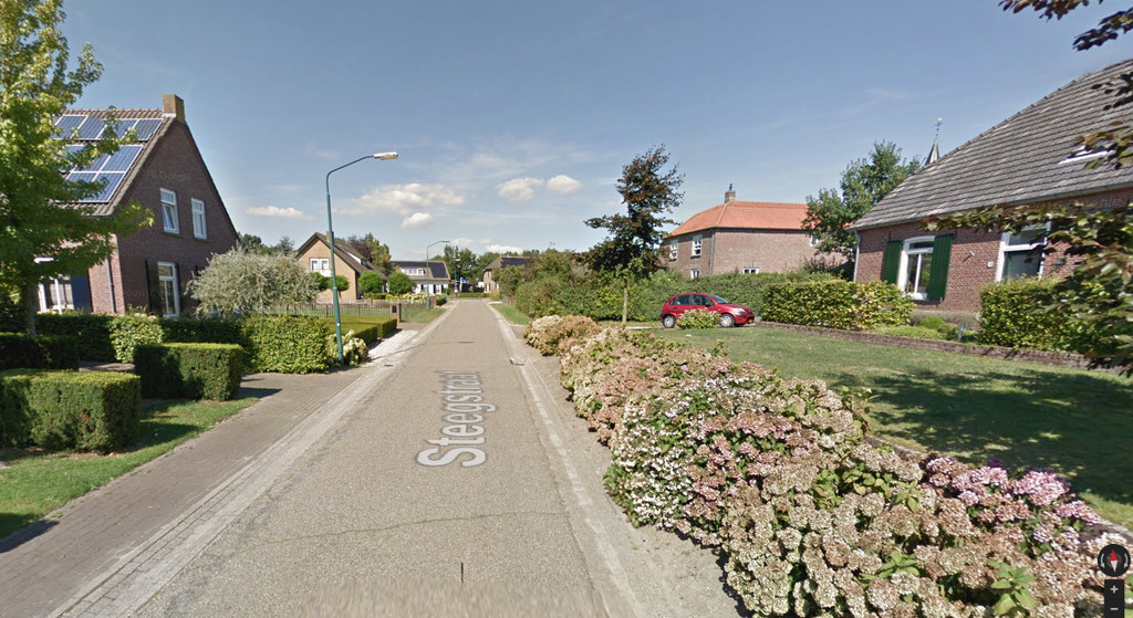 Our street in Google Streetview
