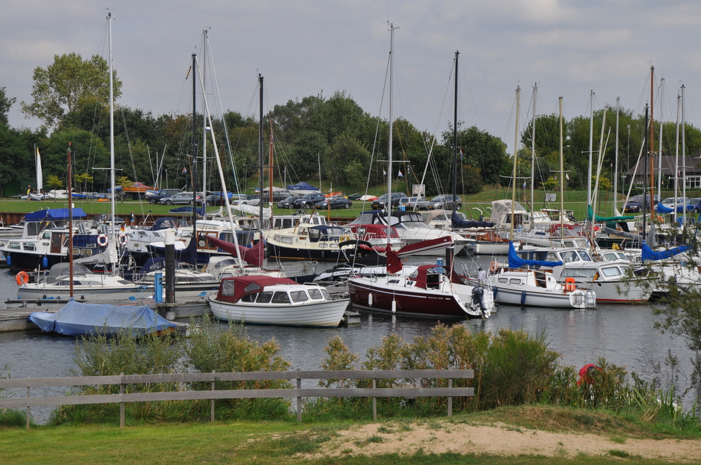 Local marina for small sailing boats