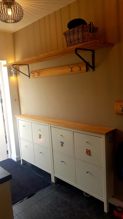 Pantry room (access to back garden)