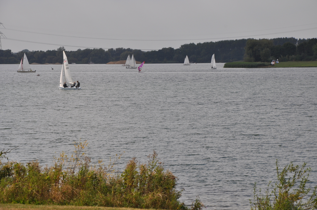 Local sailing on surrounding lakes