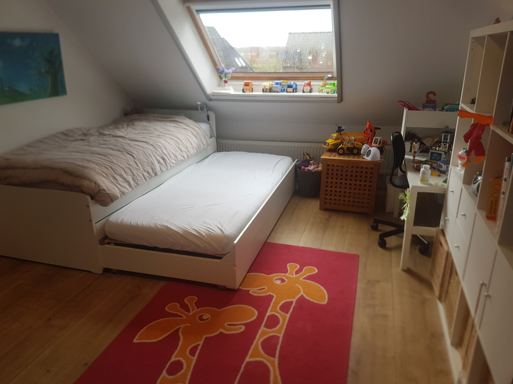 Querijn's bedroom (with extra 90x200  bed)