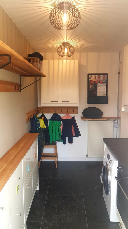 Pantry room (when entering from back garden)
