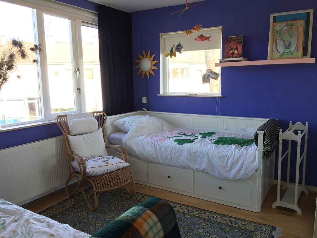 Bedroom with two single/ double beds 1
