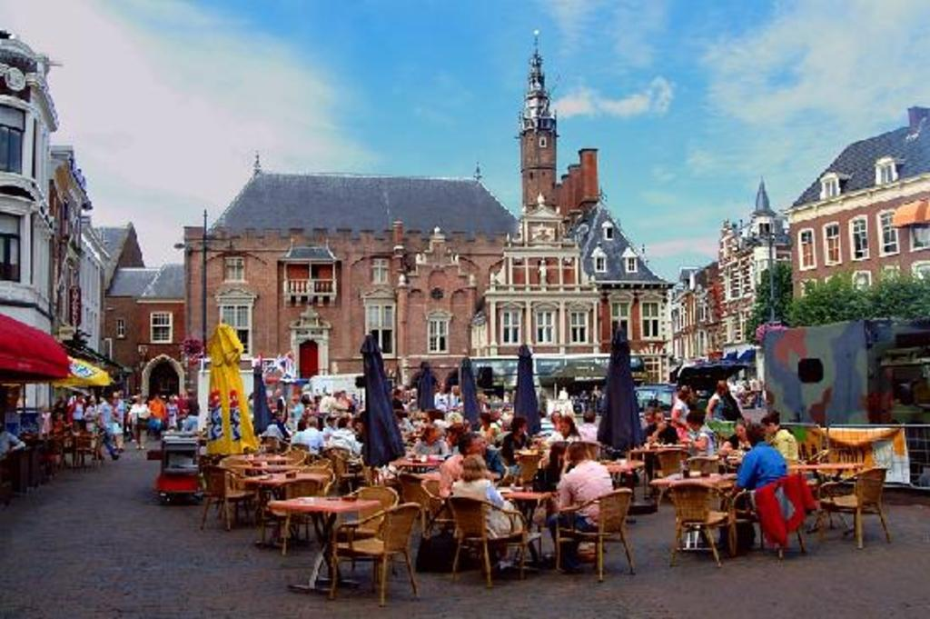 historic center of Haarlem