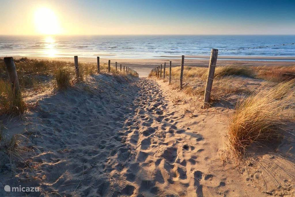 We are close to the coast. The nearest beach is Egmond aan Zee. Beautiful sunsets!