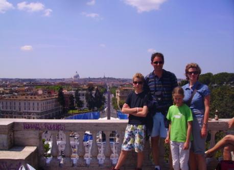 We in Rome!