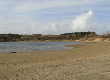 Lake at the Dunes nearby