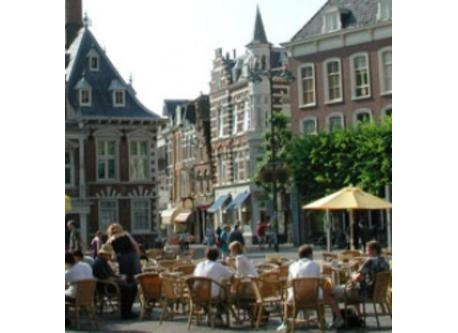 Grote Markt, center of historical town of Haarlem