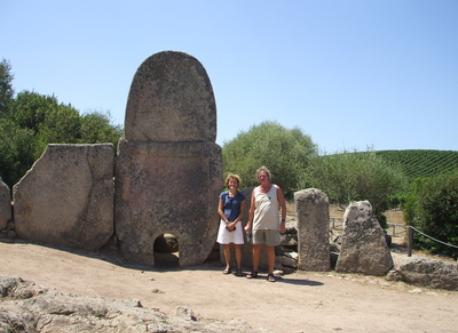 Toon and Nel in Sardegna