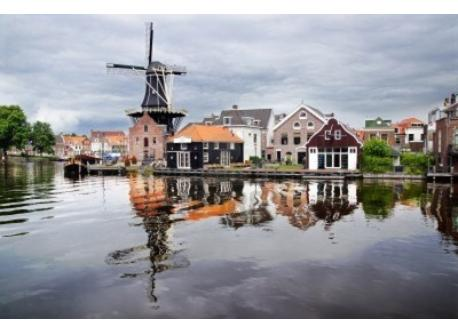 Haarlem from the waterside