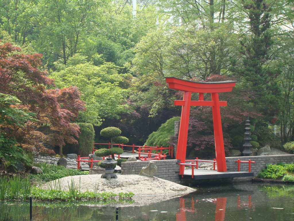 Kasteeltuinen Arcen, Japanese garden