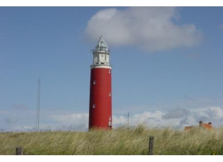The lighthouse at Texel