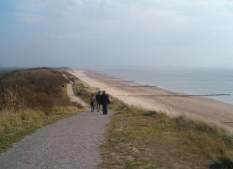"""our coast""' in winter. High dune area (hight up to 50 m)"