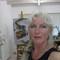 Margriet in her studio