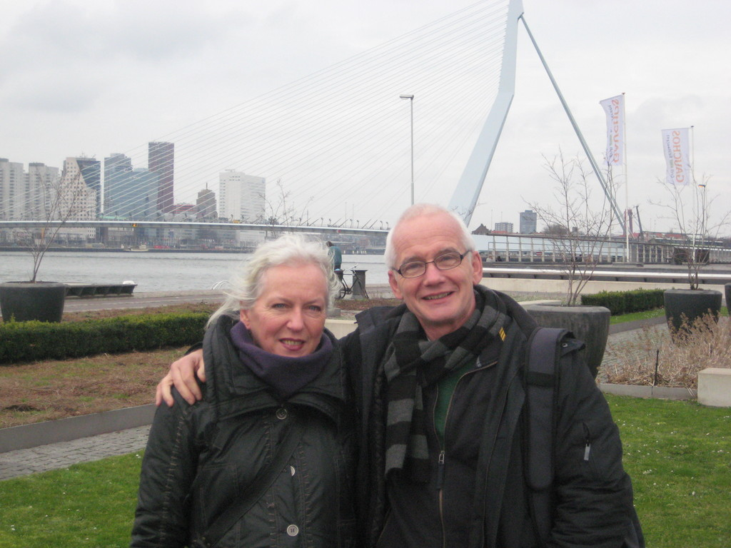 Margriet & Sjoerd in Rotterdam