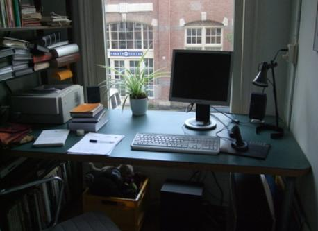 second little study/store-room
