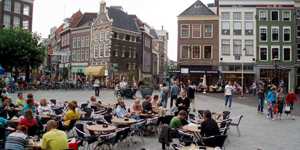 The centre of Zwolle