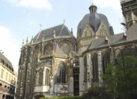 Aachen, Germany, historic centre (5km from our home)