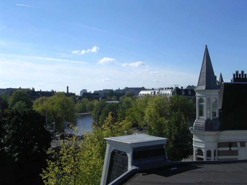 Surroundings from the roof