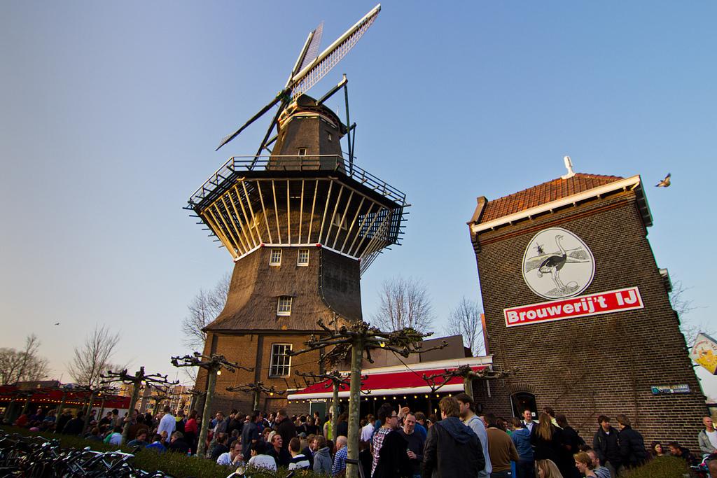 Amsterdam Brewery 't IJ, 5 minutes walk