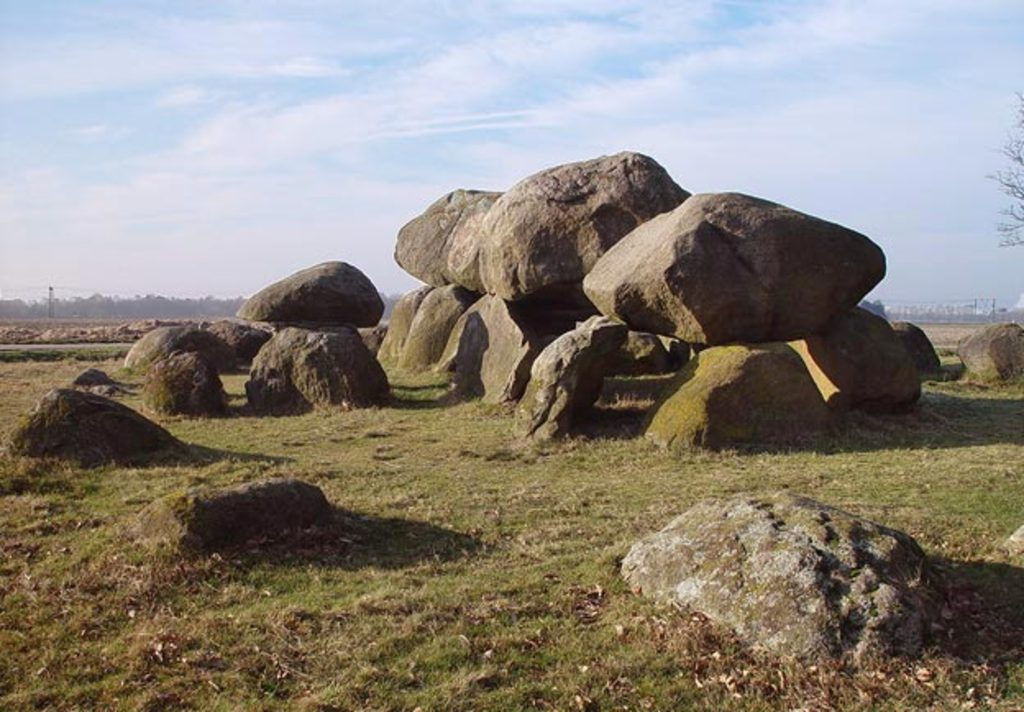 COUNTRYSIDE: Ancient stones ('Hunnebedden') at UNESCO national parc