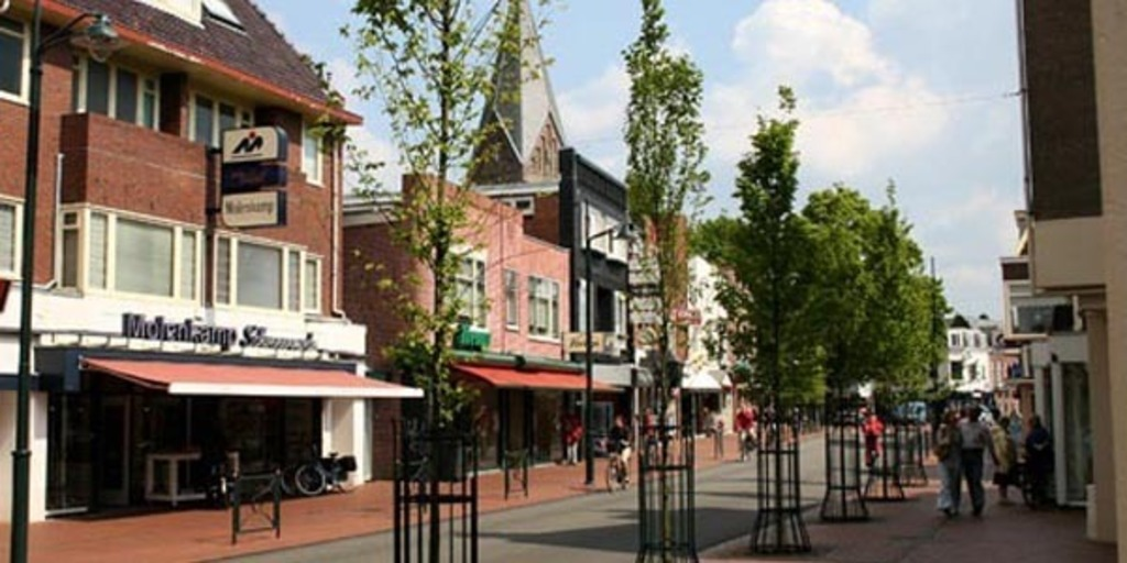 The centre of Haren, a very nice area for shopping and good restaurants