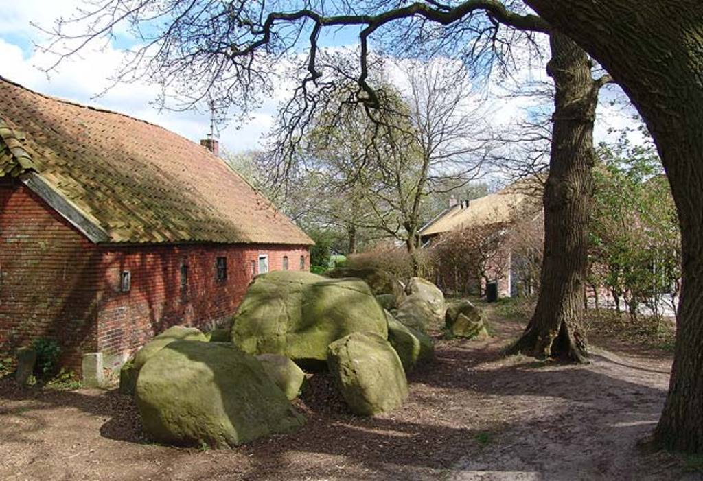 COUNTRYSIDE: Ancient stones ('Hunnebedden')  and pitoresque villages nearby