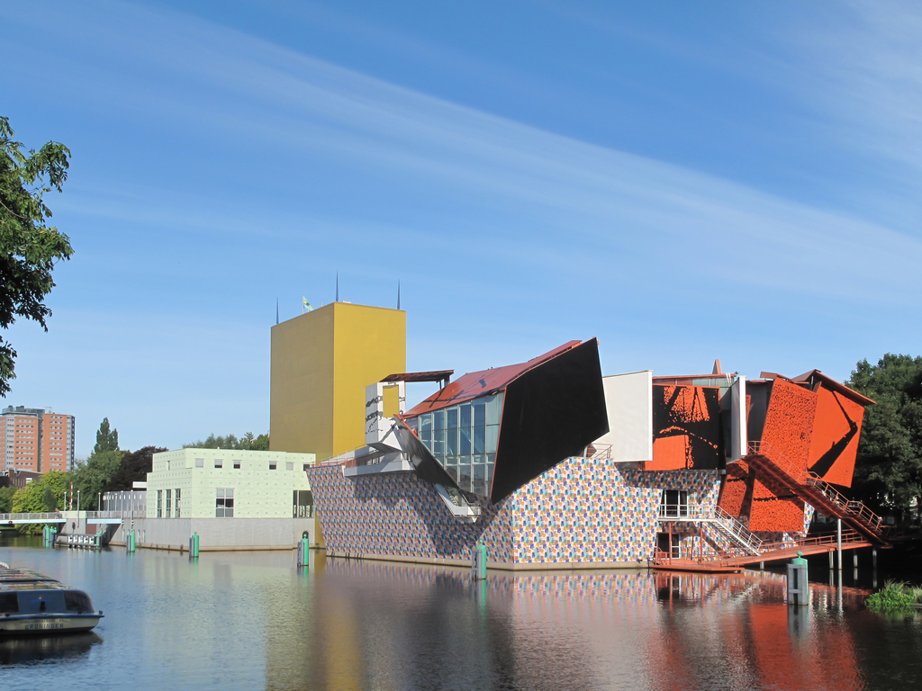 Museum of art at Groningen designed by Mendini