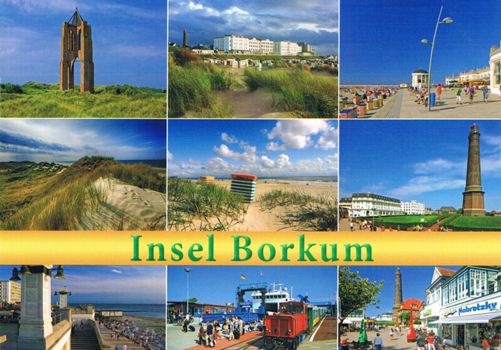 The German island of Borkum