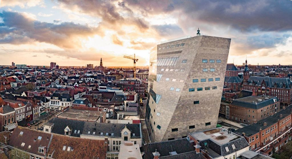 The new library and cinema in the city of Groningen (with rooftopview!)