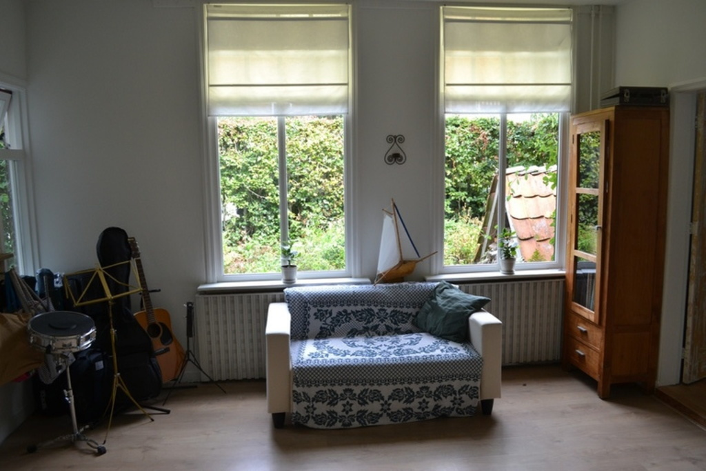 The music room downstairs