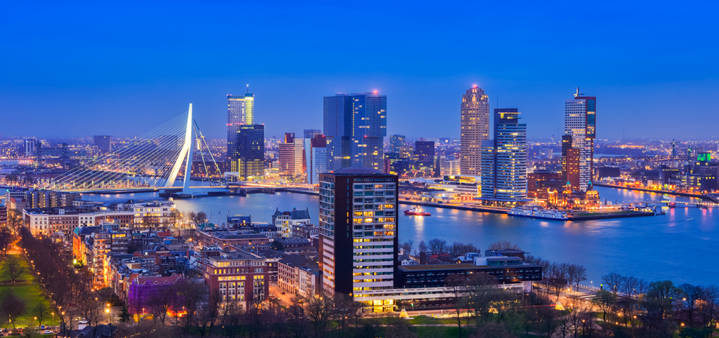 Be sure to visit Rotterdam, It's only 30 minutes away