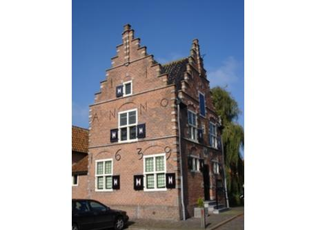 Historic building in one of the 'polders'