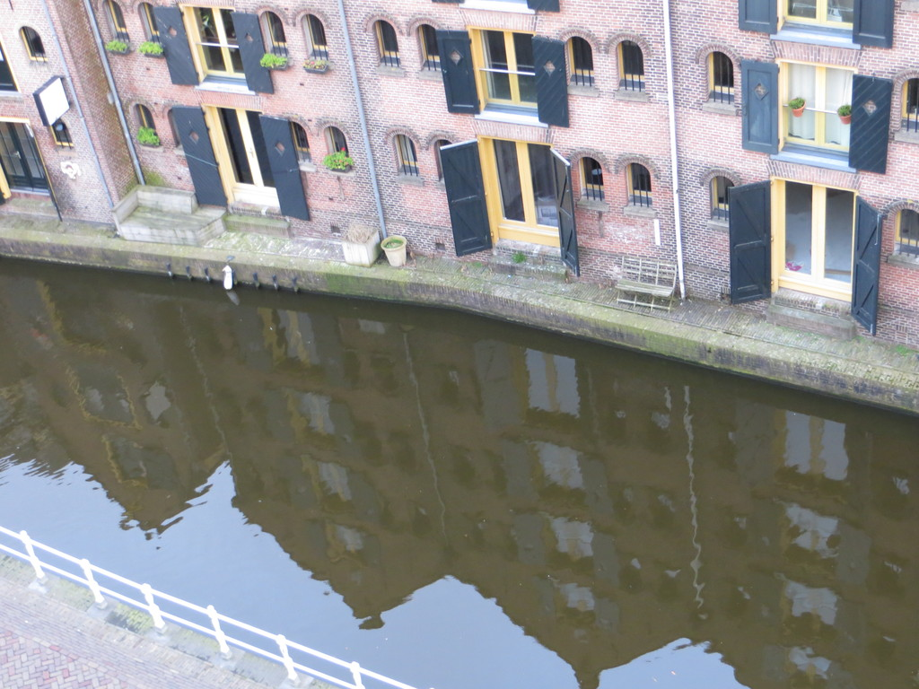 One of the canals in Alkmaar