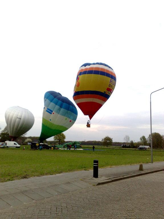 Activities: ballooning