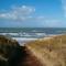 The Castricum beach