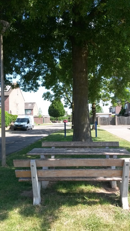 Picknick area in our street