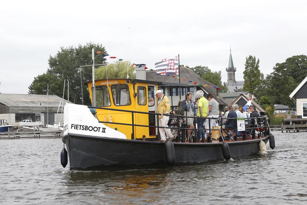 Fietsboot - verschillende opstapplaatsen. Ook op de Loosdrechtse Plassen