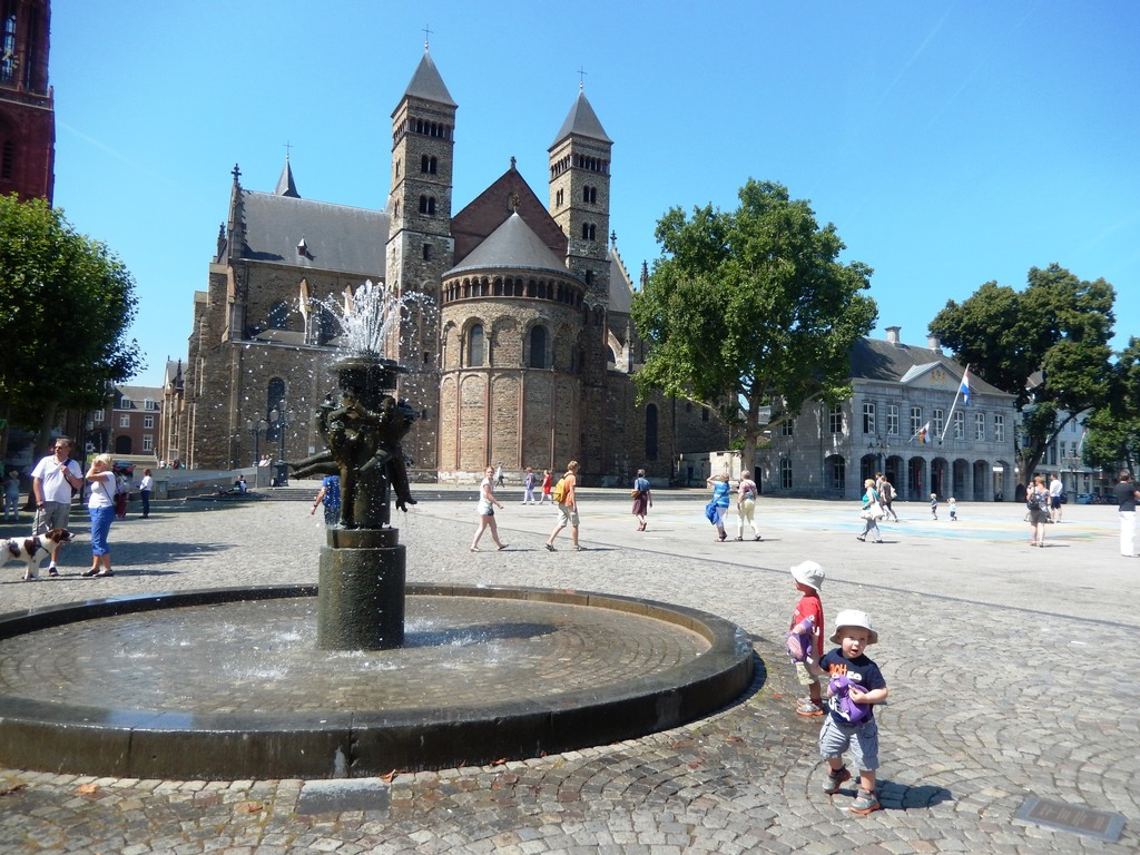 The historic city centre of Maastricht