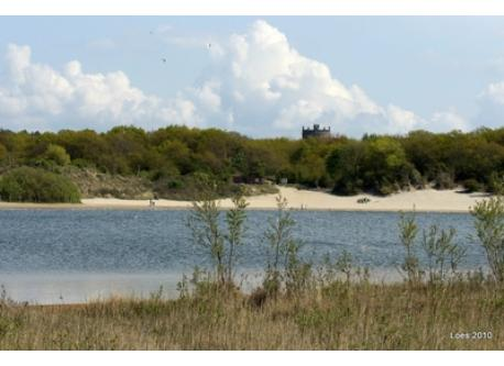 't Wed' dune (swimming) lake (2 km)