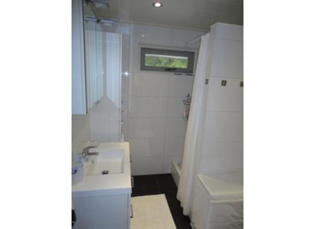 Bathroom with toilet (not visible)