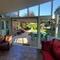 Sunroom and back garden