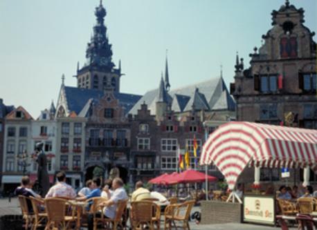 City centre of Nijmegen