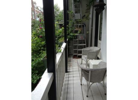 veranda, backside=south, overlooking the garden