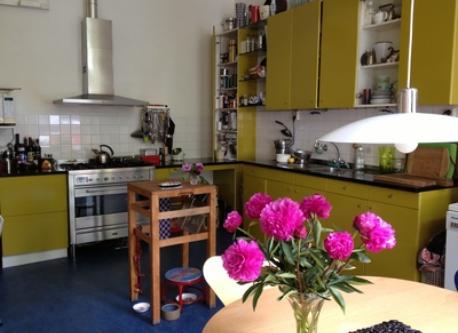kitchen on the second floor