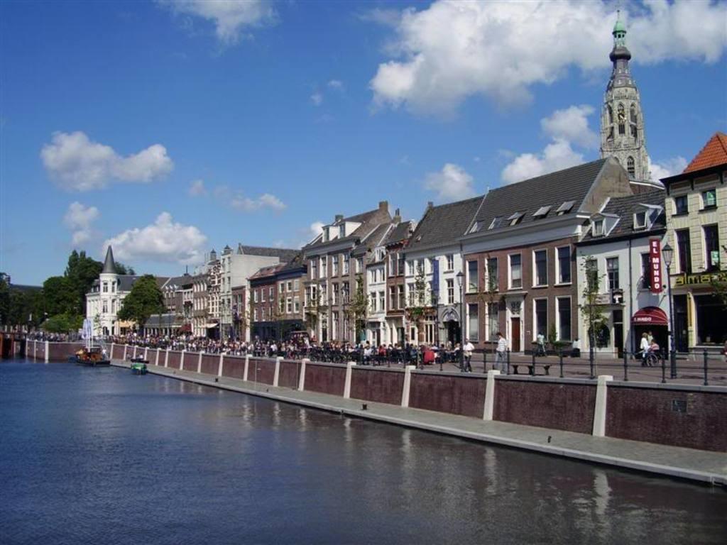 The city centre of Breda