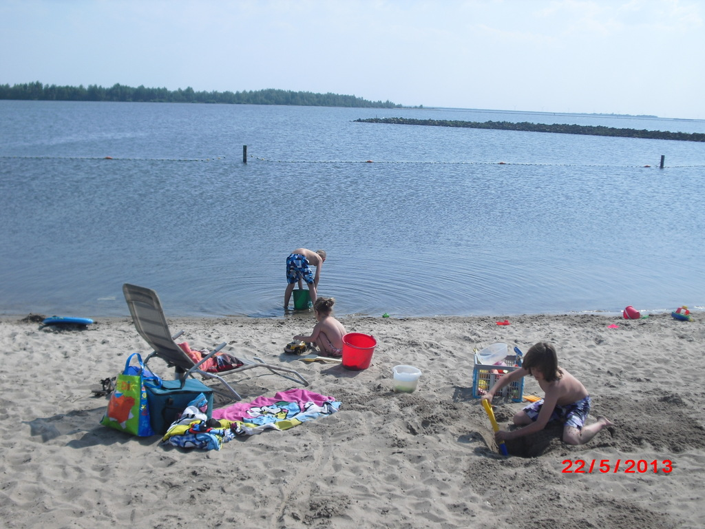 This is 1 of the 4 nearby beaches. This beach is 9 km. from our home.