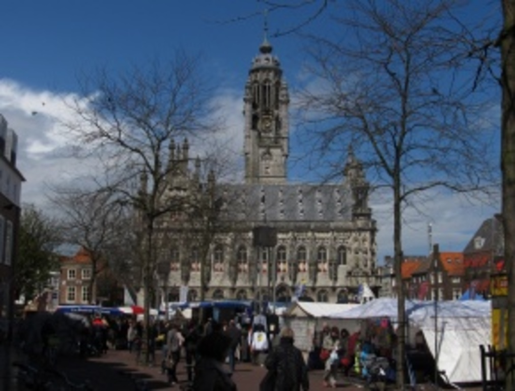 Middelburg, the capital city of Zeeland