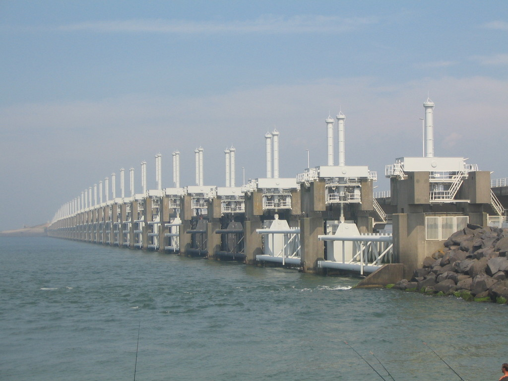 World famous: Oosterschelde floodbarrier
