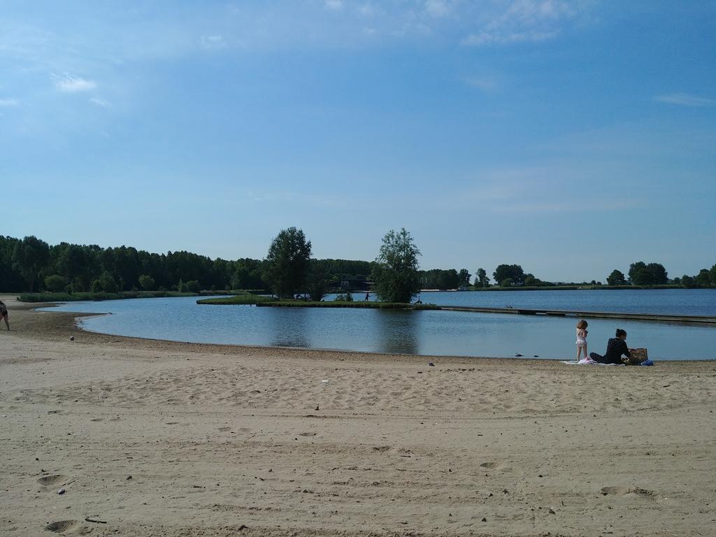 Small lake in Velserbroek
